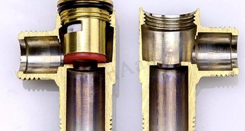 Bathroom Kitchen Copper Triangular Brass Water Valve