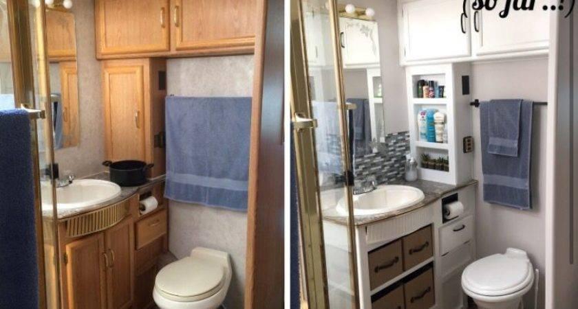 Bathroom Redo Campers Pinterest