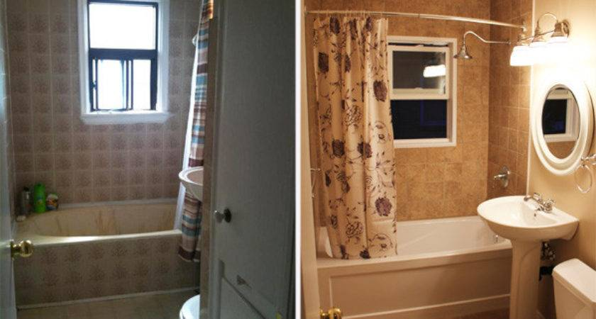 Bathroom Remodels Before After Home Round