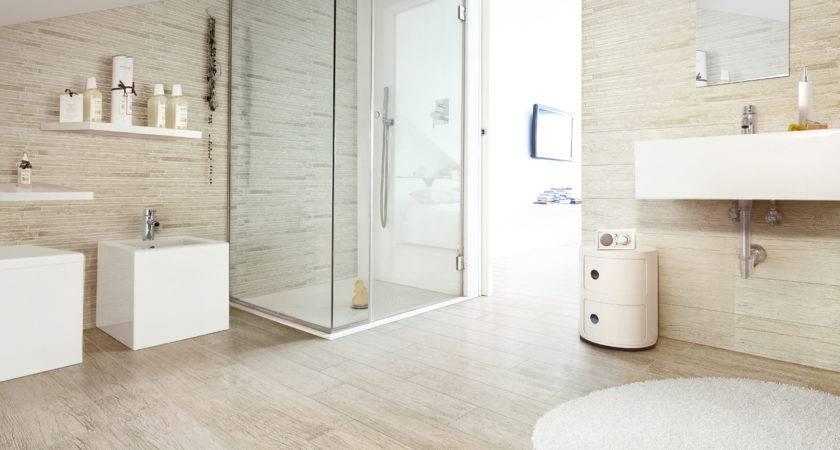 Bathroom Tile Wood Look Home