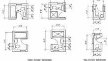 Bathroom Very Small Design Plans