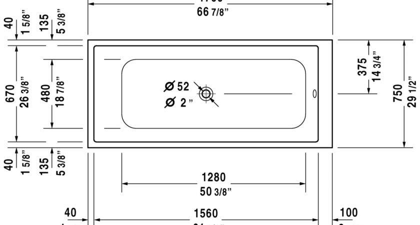 Bathtubs Superb Standard Bathtub Measurements Design