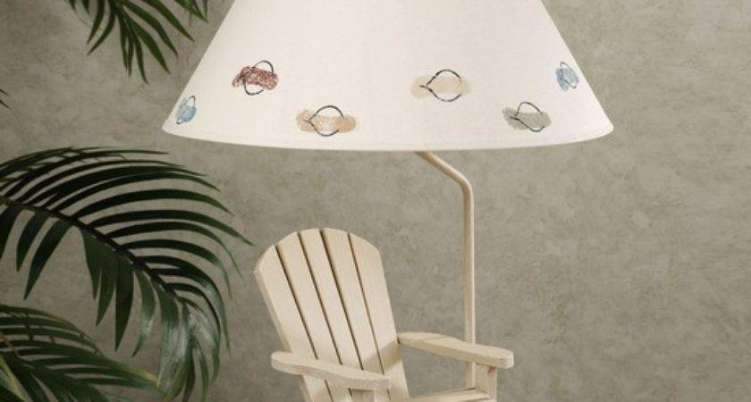 Beach Themed Lamp Shades Room