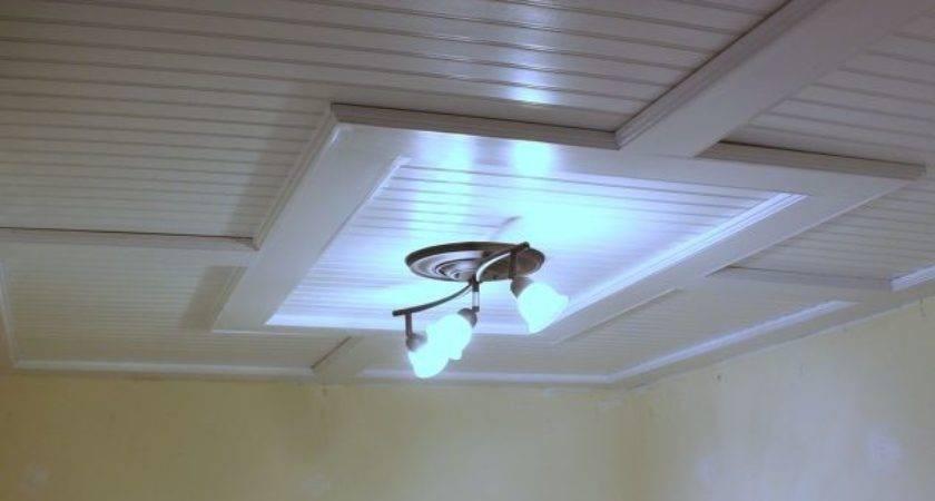 Beadboard Drop Ceiling Hometalk