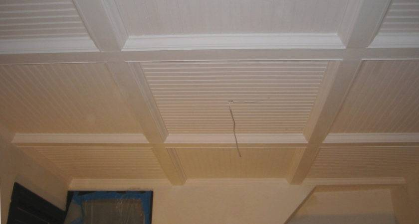 Beadboard Options Ceiling Removable Sections