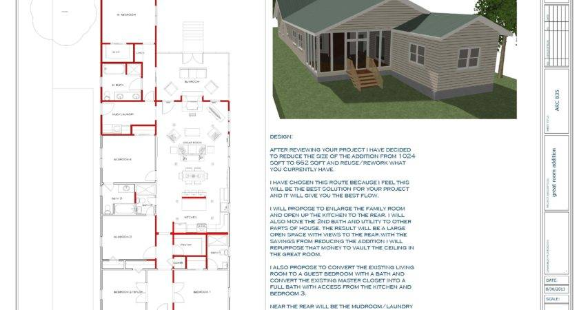 Beautiful Great Room Addition Plans House
