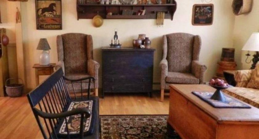 Beautiful Living Room Top Primitive Furniture