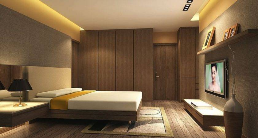 Bedroom Interior Ideas Wardrobe Wall House