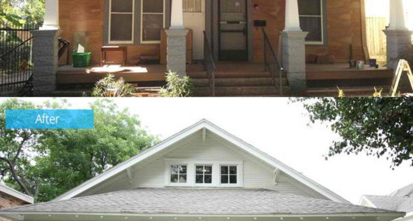 Before After Dilapidated Shocker Craftsman Home