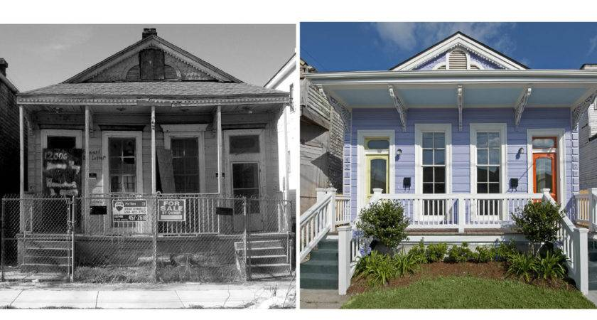 Before After House Rehab Home Design