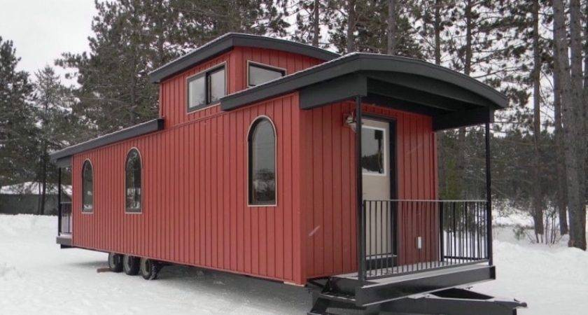 Bespoke Park Model Home Built Train Caboose