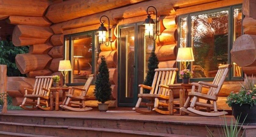 Best Cabin Porches Ideas Pinterest Lake Cabins