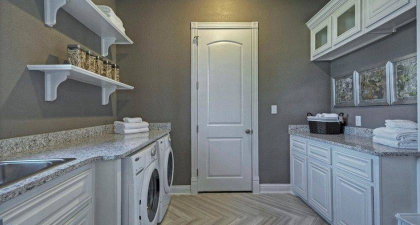 Best Color Combinations Laundry Room Painted Wood