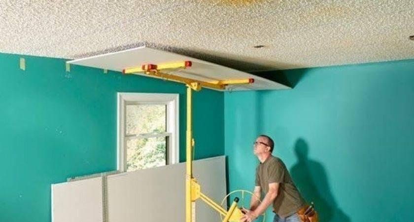 Best Covering Popcorn Ceiling Ideas Pinterest