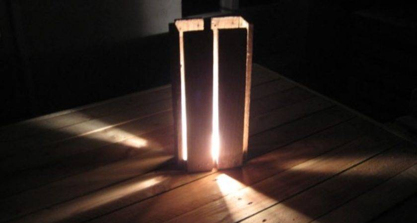 Best Creative Ways Recycle Wood Pallets Into Lamps