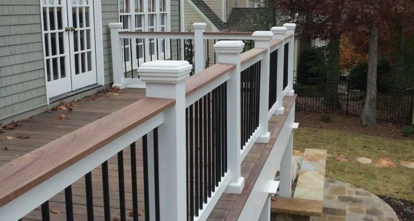 Best Deck Railing Porch Design Ideas