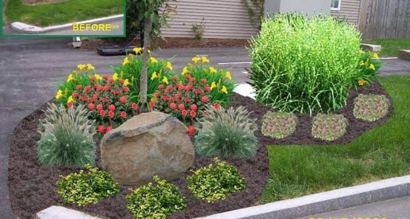 Best Driveway Entrance Landscaping Ideas Pinterest