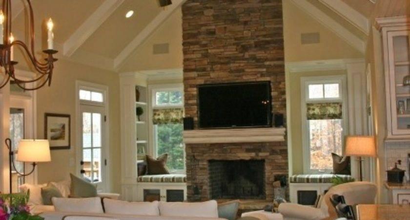 Best Fireplace Windows Ideas Pinterest