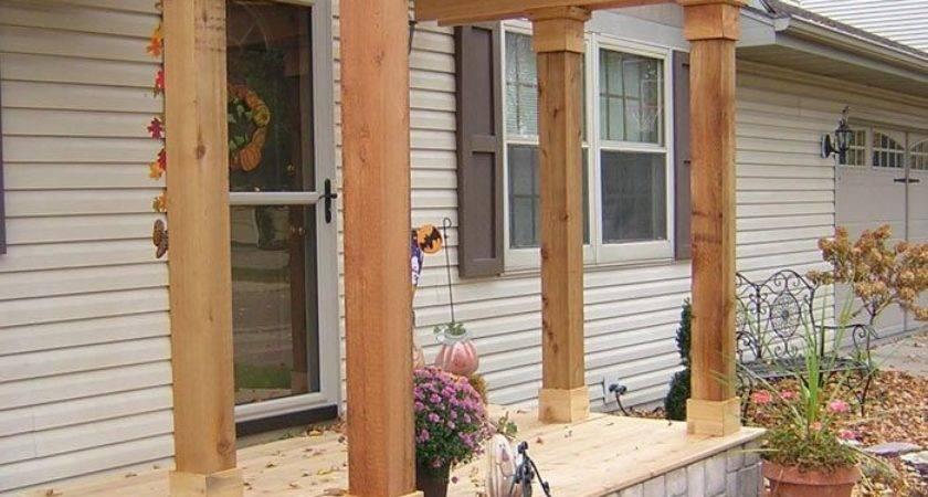 Best Front Porch Pergola Ideas Pinterest