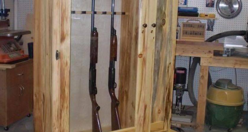 Best Gun Cabinet Plans Ideas Pinterest