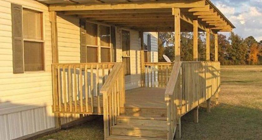 Best Mobile Home Porch Ideas Pinterest