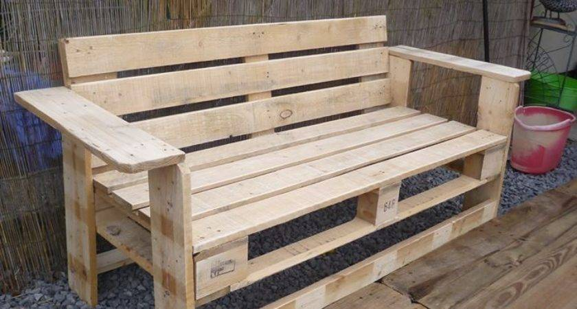 Best Pallet Benches Ideas Pinterest Bench