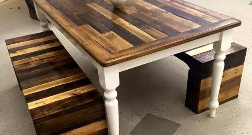 Best Pallet Dining Tables Ideas Pinterest