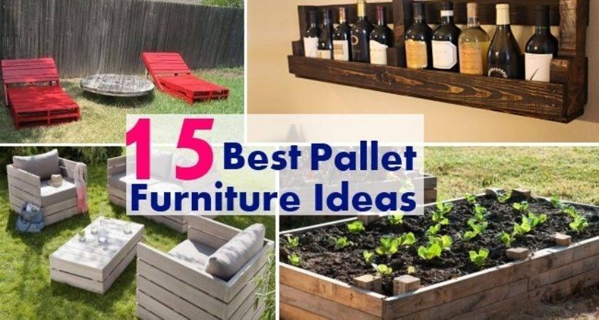 Best Pallet Furniture Ideas Home Good