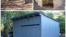 Best Pallet Shed Ideas Pinterest