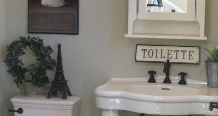 Best Paris Theme Bathroom Ideas Pinterest