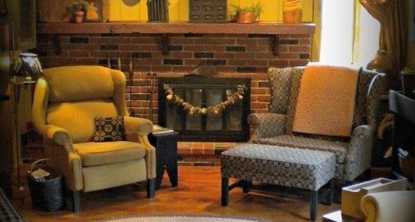 Best Primitive Colonial Living Rooms
