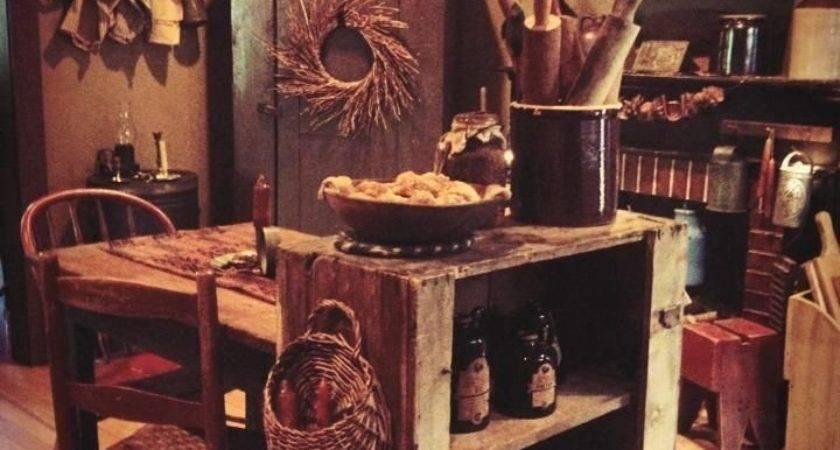 Best Primitive Kitchen Decor Ideas Pinterest