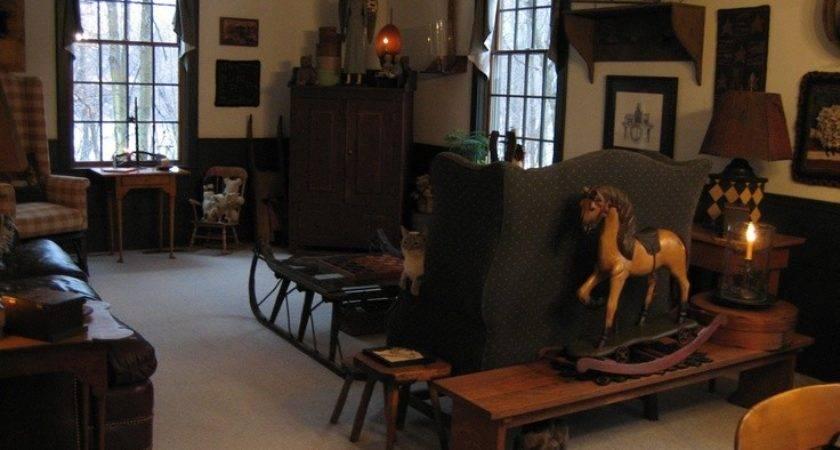 Best Primitive Living Rooms Pinterest