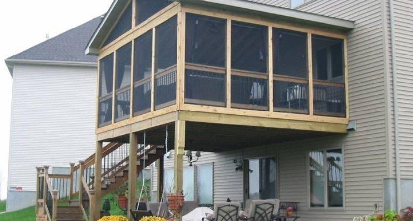 Best Screened Deck Ideas Pinterest Porch