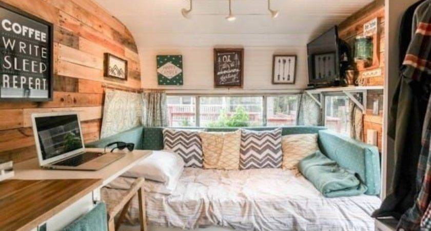 Best Vintage Camper Interior Ideas Pinterest
