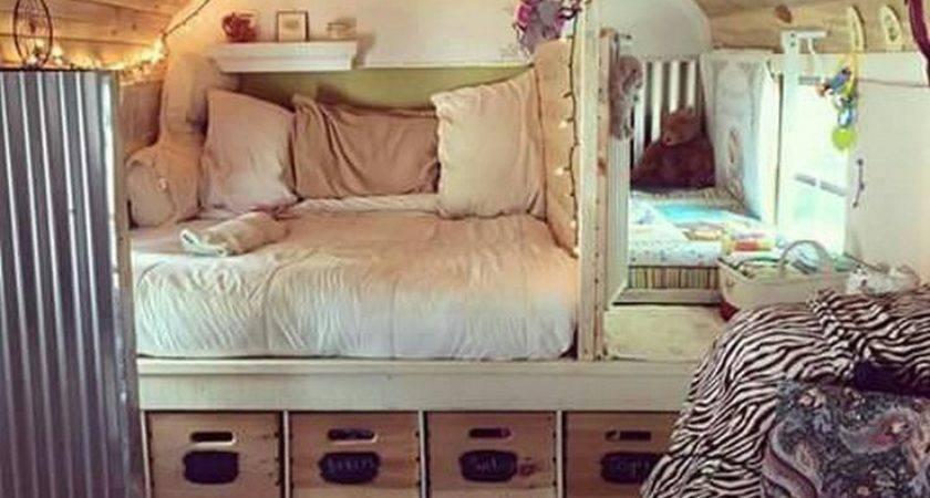 Best Vintage Camper Interior Ideas Pinterest