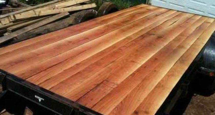 Best Wood Trailer Flooring Pinterest Truck