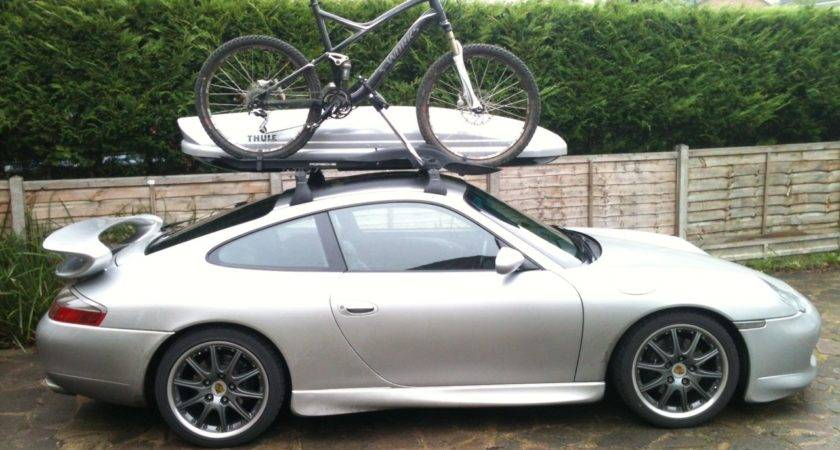Bicycle Roof Bars Porsche