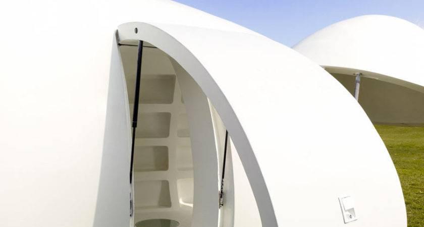Blob Mobile Living Pod Dmva Architects