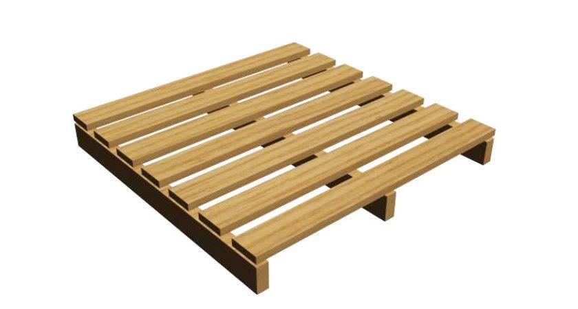 Block Way Pallet Ashborn Industries Wooden