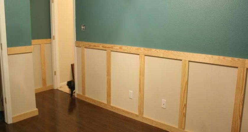 Bloombety Paint Wainscoting Panels Green