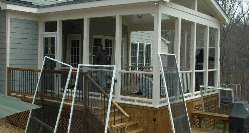 Bloombety Screened Porch Ideas Repairment