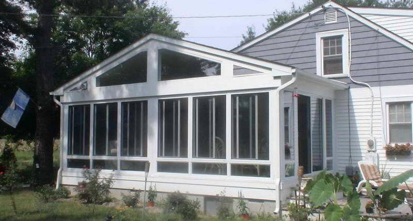 Bloombety Sunroom Screened Porch Design