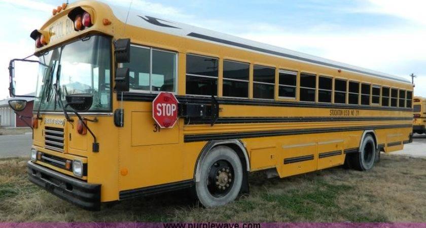 Blue Bird Passenger School Bus Item Sold