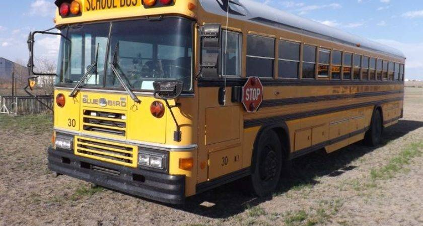 Blue Bird School Bus Reserve Auction Tuesday