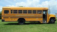 Bluebird International Handicapped School Bus