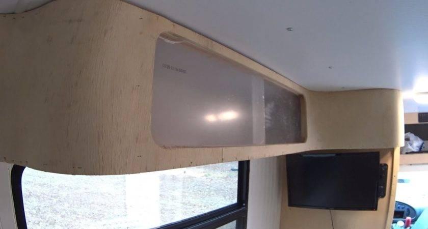 Box Truck Camper Custom Diy Curved Cabinets