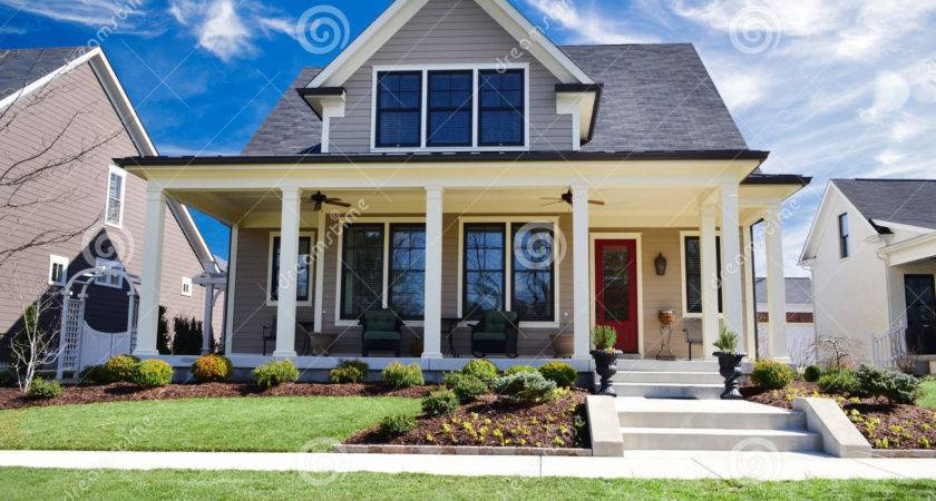 Brand New Custom Home Large Front Porch