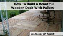 Build Beautiful Wooden Deck Pallets
