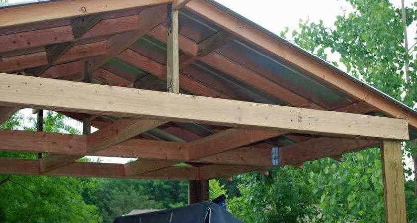 Build Covered Patio Brick Ideas